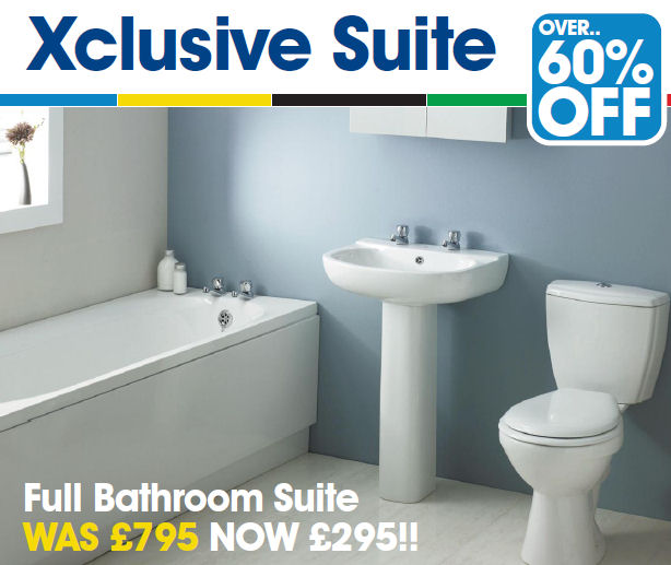 Cheap bathrooms newton aycliffe from only 295 bathrooms for Affordable furniture uk newton aycliffe
